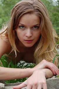 Model Conny in Creekside