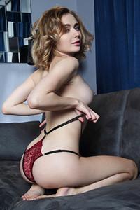 Model Katy G in Be Mine