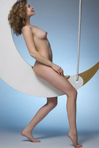 Model Emma O in Over The Moon